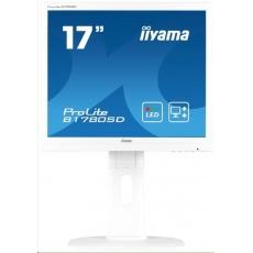Iiyama monitor ProLite B1780SD, 43.2 cm (17''), VGA, DVI, Pivot, white