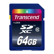 TRANSCEND SDXC karta 64GB Premium, Class 10