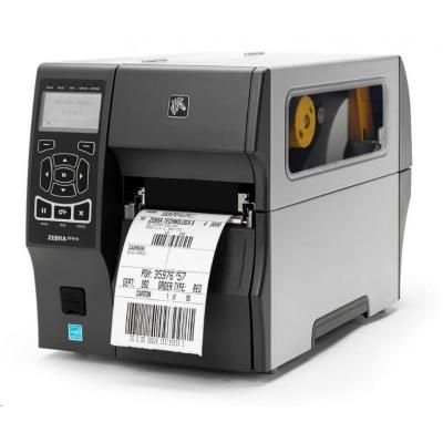 POŠKOZENÝ OBAL - ZEBRA ZT410 průmyslová tiskárna, 203dpi, 104mm, USB, RS232, LAN, BT, DT/TT, EZPL