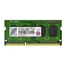 SODIMM DDR3 4GB 1600MHz TRANSCEND TS512MSK64V6N 256Mx8 2Rx8