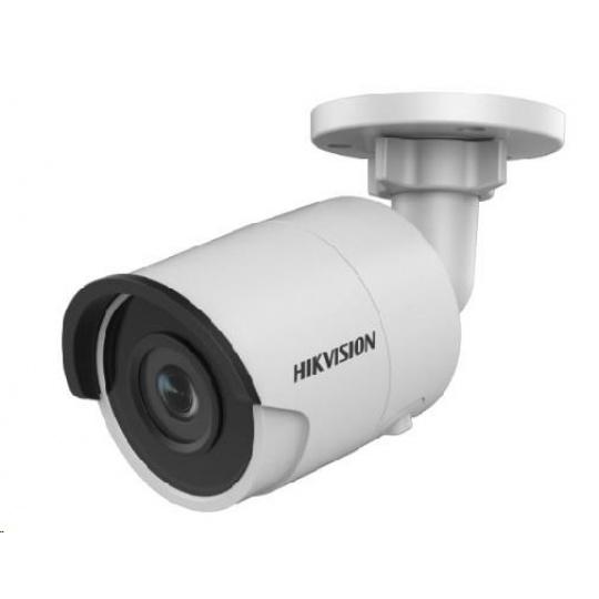 HIKVISION IP kamera 4Mpix, H.265, 25 sn/s, obj. 2,8 mm (103°), PoE, IR 30m, IR-cut, WDR 120dB, analytika, 3DNR, MicroSDX