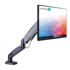 CONNECT IT SingleArm stolní držák na 1 monitor, záruka 30 let, ČERNÝ