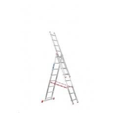 Venbos Hliníkový žebřík 3x8