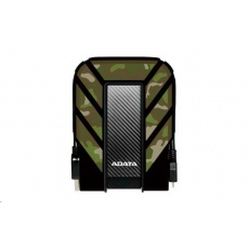 """ADATA Externí HDD 1TB 2,5"""" USB 3.1 DashDrive Durable HD710M Pro, kamufláž (gumový, nárazu/vodě/prachu odolný)"""
