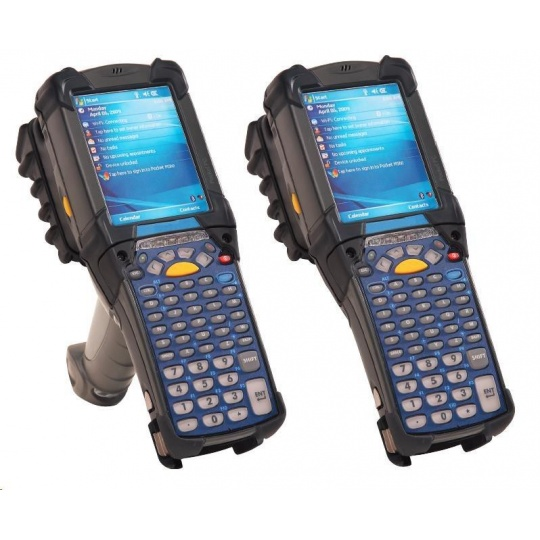 Motorola/Zebra terminál MC9200GUN, WLAN, 2D IMAGER (SE4750MR), 1GB/2GB, 53 key, ANDROID KK, BT, IST, RFID TAG
