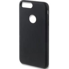 4smarts silikonový kryt CUPERTINO pro iPhone SE 2020/7/8 , černá