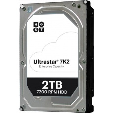 Western Digital Ultrastar® HDD 2TB (HUS722T2TALA604) DC HA210 3.5in 26.1MM 128MB 7200RPM SATA 512N SE (GOLD WD2005FBYZ)