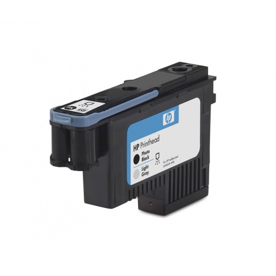 HP 70 Black photografic + Light Grey DJ Printhead, C9407A