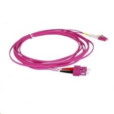 Duplexní patch kabel MM 50/125, OM4, SC-LC, LS0H, 10m