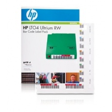 HP LTO-4 Ultrium Bar RW Code Label Pack, Q2009A
