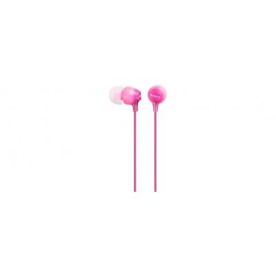 SONY stereo sluchátka MDR-EX15LP, růžová