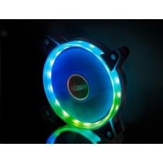 AKASA ventilátor Vegas AR7 120x120x25mm, FDB, 23.8 dBA, 3 pin, aRGB
