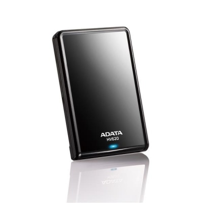 """ADATA Externí HDD 1TB 2,5"""" USB 3.0 DashDrive HV620, černý"""