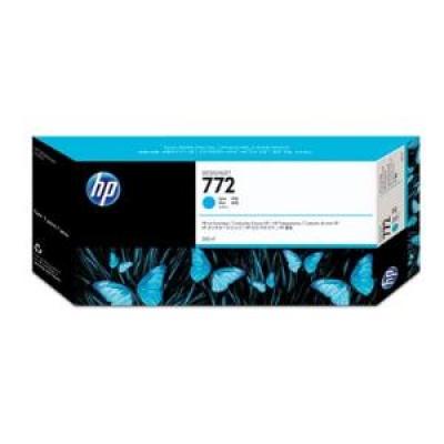 HP 772 Light Cyan DJ Ink Cart, 300 ml, CN632A