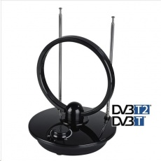 Hama aktívna izbová DVB-T/T2 anténa, kruhová