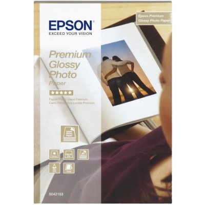 EPSON Paper Premium Glossy Photo 10x15 (40 sheet), 255g/m2