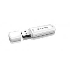 TRANSCEND Flash Disk 32GB JetFlash®370, USB 2.0 (R:16/W:6 MB/s) bílá