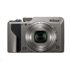 Nikon kompakt Coolpix A1000, 16 Mpix, 35x zoom - stříbrný