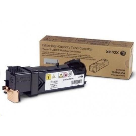 Xerox Toner Yellow pro Phaser 6128MFP (2500 str)