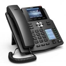"Fanvil IP telefon X4G, 4 SIP, 2,8"" LCD, 10/100/1000 Mbps, PoE"