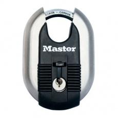 MasterLock Excell M187EURD Titanový visací zámek