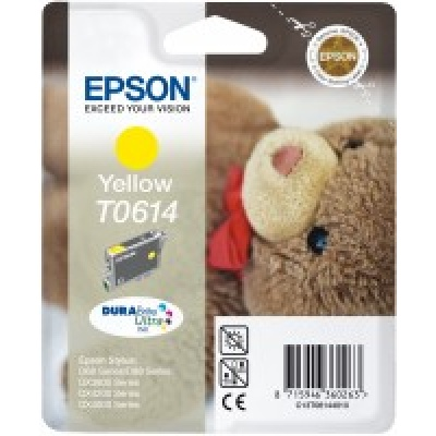 """EPSON ink bar Stylus """"Medvídek"""" D68/D88/DX3850/DX4850 - yellow"""