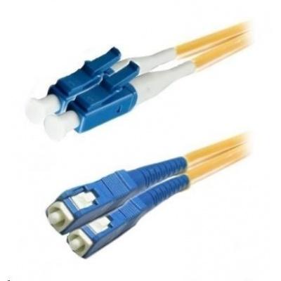 Duplexní patch kabel SM 9/125, OS2, LC-SC, LS0H, 5m
