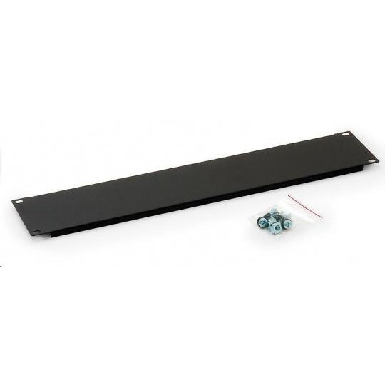 TRITON Záslepka zacvakávací malá pro otvor v rozvaděči 300x70mm, černá