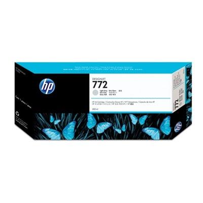 HP 772 Light Grey DJ Ink Cart, 300 ml, CN634A