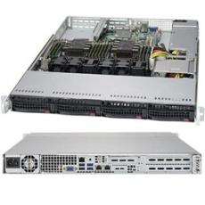 SUPERMICRO Server 1420Q X4208 (2.1G/8C/11M/2666) 1x16G 3PCI-E 4LFF/SFF 1x600W 2x1G iKVM NBD303 1U