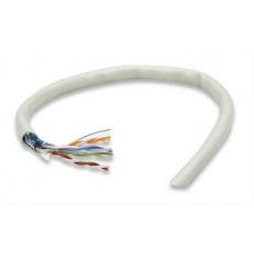 Intellinet FTP kabel, Cat5e, drát 305m, 24AWG, šedý