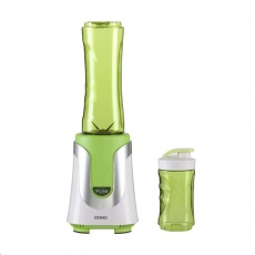 DOMO DO436BL Smoothie mixér zelený  300W + 2 nádoby