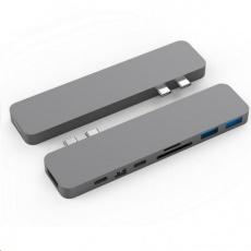 HyperDrive PRO USB-C Hub pro MacBook Pro - Space Gray