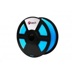 C-TECH Tisková struna (filament) PLA, 1,75mm, 1kg, nebeská modrá