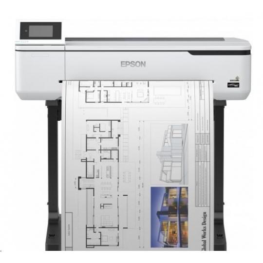 EPSON tiskárna ink SureColor SC-T3100, 4ink,  A1, 2400x1200 dpi, USB 3.0 , LAN, WIFI,