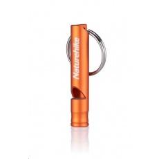 Naturehike bezpečnostní píšťalka krátká 12g - oranžová