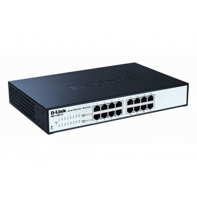 D-Link DGS-1100-16 16-port Gigabit EasySmart Switch, fanless