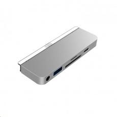 HyperDrive 6-in-1 USB-C Hub pro iPad Pro - Silver