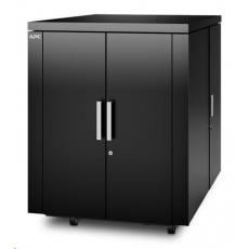 APC NetShelter CX 18U 750 mm Wide x 1130 mm Deep Enclosure Black Finish Intl
