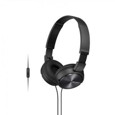 SONY stereo sluchátka MDR-ZX310AP, černá