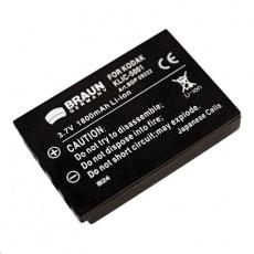 Braun akumulátor KODAK Klic 5001, Sanyo DB-L50, 1700mAh