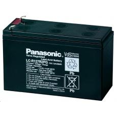 Baterie - Panasonic LC-R127R2PG (12V/7,2Ah - Faston 187), životnost 6-9let