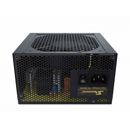 SEASONIC zdroj 650W CORE GM-650 (SSR-650LM), ATX, 12cm fan, 80+ GOLD