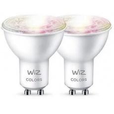 WIZ LED Žárovka SMART WiFi GU10 WiZ50 TR F WiZ Barevná a Bílá 2200 - 6500K 5W (WZE20195081)