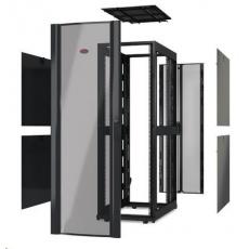 APC NetShelter SX 42U 600mm Wide x 1070mm Deep Enclosure Without Sides, Black