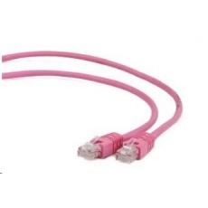 GEMBIRD Patch kabel CAT6 stíněný FTP 0,25m, růžový