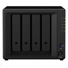 Synology DS418 DiskStation (4C/RealtekRTD1296/1,4GHz/2GBRAM/4xSATA/2xUSB3.0/2xGbE)