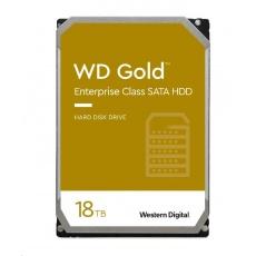 WD GOLD WD181KRYZ 18TB SATA/ 6Gb/s 512MB cache 7200 ot., CMR