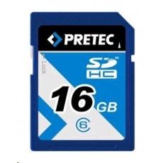 PRETEC Secure Digital SDHC 233x class 10 ( 31MB/s, 11MB/s) - 16GB