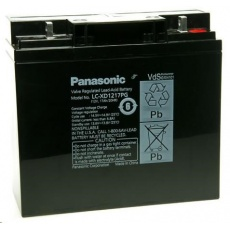 Baterie - Panasonic LC-XD1217PG (12V/17Ah - M5), životnost 10-12let